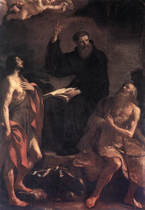 183 Guercino St Augustine Rome S Pietroin Vincoli