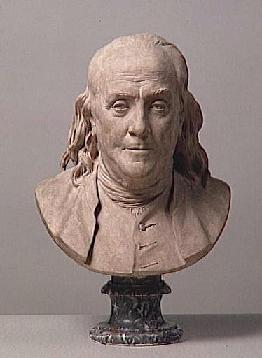 183 Houdon Benjamin Franklin 1778 Paris Mus E Du Louvre